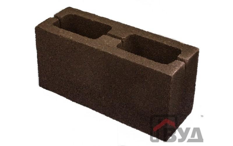 Блок заборный гладкий 140