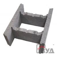 Фундаментный блок (несъёмная опалубка) 500х400х200