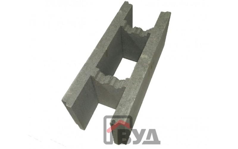 Фундаментный блок (несъёмная опалубка) 500х200х200