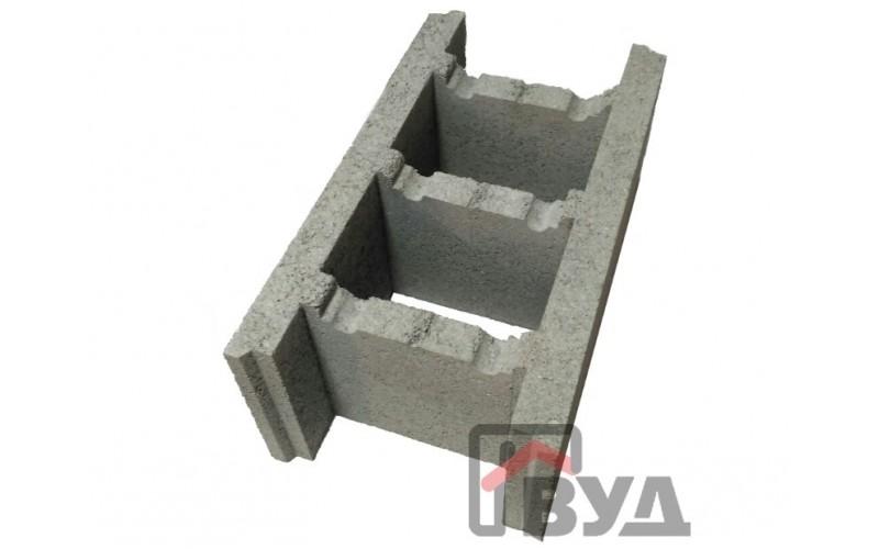 Фундаментный блок (несъёмная опалубка) 500х275х200