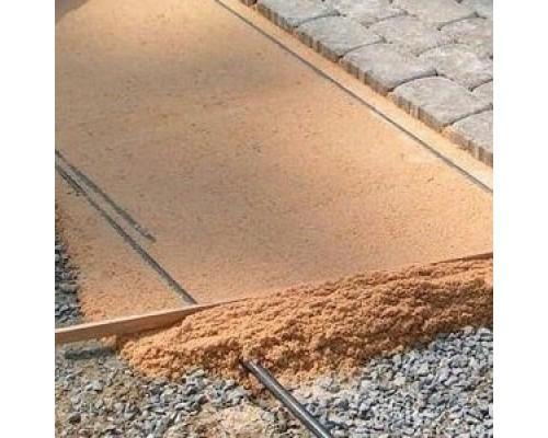 Подготовка участка под укладку тротуарной плитки