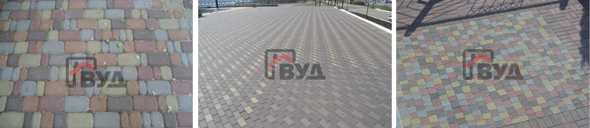 Варианты укладки тротуарной плитки